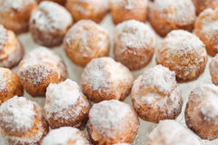 Homemade profiteroles Royalty Free Stock Photography