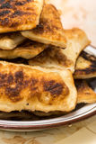 Homemade puff pastry on grandmothers way Royalty Free Stock Image