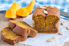 Homemade pumpkin bread Stock Photography