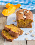 Homemade pumpkin bread Stock Photography