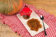Homemade pumpkin marmalade Stock Photography