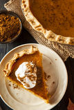 Homemade Pumpkin Pie for Thanksigiving Royalty Free Stock Image
