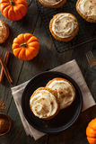 Homemade Pumpkin Spice Cookies Stock Photos
