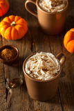 Homemade Pumpkin Spice Latte Stock Images