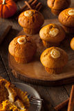 Homemade Pumpkin Spice Muffins Royalty Free Stock Image
