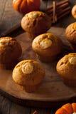 Homemade Pumpkin Spice Muffins Stock Image
