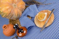 Homemade pumpkin sweet Royalty Free Stock Photos