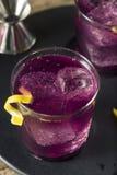 Homemade Purple Haze Cocktail Royalty Free Stock Photography