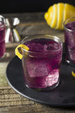 Homemade Purple Haze Cocktail Royalty Free Stock Images