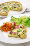 Homemade quiche Royalty Free Stock Image