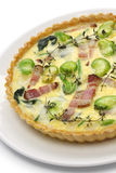 Homemade quiche Royalty Free Stock Photography