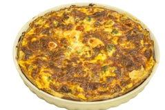 Homemade quiche pie Stock Photo