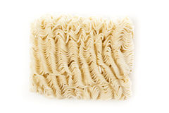 Homemade Quick Ramen Noodles Royalty Free Stock Photos