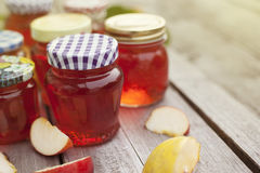 Homemade Quince Jelly Royalty Free Stock Photo