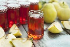 Homemade Quince Jelly Royalty Free Stock Photography