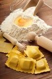 Homemade ravioli Royalty Free Stock Photos