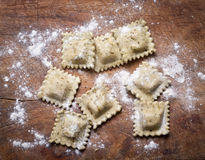 Homemade ravioli. Stock Photography