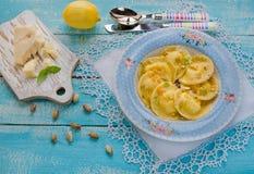 Homemade ravioli Royalty Free Stock Image