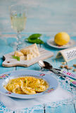 Homemade ravioli Royalty Free Stock Photo