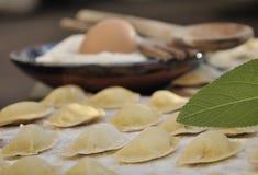 Homemade ravioli Royalty Free Stock Images
