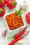 Sauce chili Stock Photo