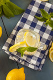 Homemade Refreshing Yellow Lemonade Royalty Free Stock Photography