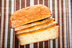 Homemade rice bread Stock Images