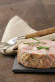 Homemade roast pork carbonate with rosemary Royalty Free Stock Photography