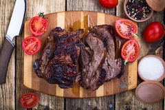 Homemade roasted beef shoulder Royalty Free Stock Images