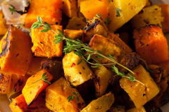 Homemade Roasted Root Vegetables Stock Photos