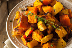 Homemade Roasted Root Vegetables Royalty Free Stock Photography