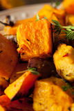 Homemade Roasted Root Vegetables Royalty Free Stock Images