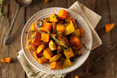 Homemade Roasted Root Vegetables Royalty Free Stock Image