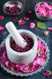 Homemade rose jam Stock Image