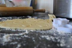 Homemade Shortbread Dough royalty free stock photo