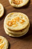 Homemade Russian Cocktail Blini Pancakes. In a Stack stock photo