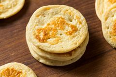 Homemade Russian Cocktail Blini Pancakes. In a Stack royalty free stock photos