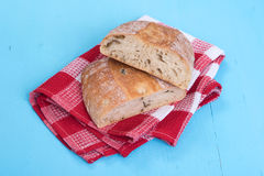 Homemade Rustic Ciabatta Bread Stock Images