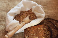 Homemade rye bread Royalty Free Stock Images