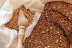 Homemade rye bread Stock Image