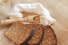 Homemade rye bread Stock Photography