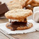 Homemade S'mores Stock Photography
