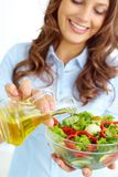 Homemade Salad Stock Photography
