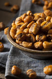 Homemade Salty Corn Nuts Royalty Free Stock Photos