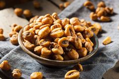 Homemade Salty Corn Nuts Stock Photography