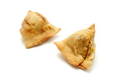 Homemade samosas Stock Images
