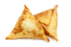 Homemade samosas Stock Photography