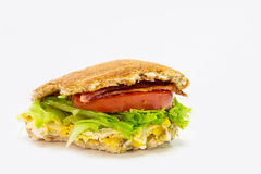 Homemade sandwich Stock Photography