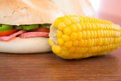 Homemade sandwich Stock Photo