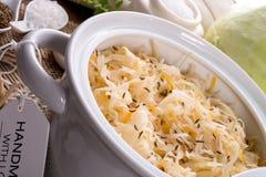 Homemade sauerkraut Royalty Free Stock Images